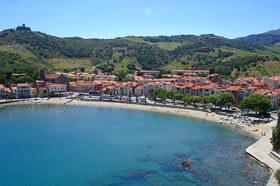 Photo of the beach at Collioure