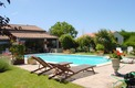 7 Bed. House with gîte, Near Mirambeau in Charente-Maritime